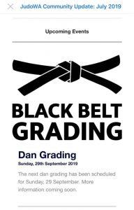Judo WA Dan Grading